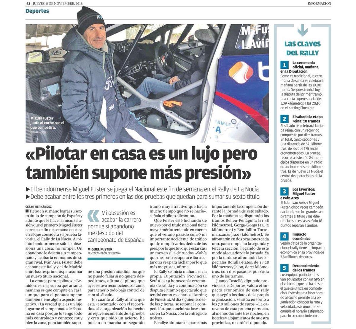 CERA: 24º Rallye La Nucía Mediterraneo - Trofeo Costa Blanca [9-10 Noviembre] - Página 2 DrfBQiCXcAEZapC