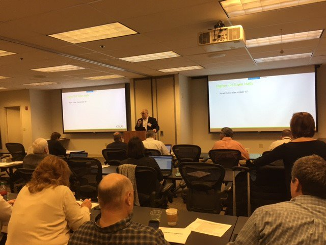 Our team is at the @ASUG365 Higher Education #SIG event! A great event in store with special presentations sharing the Purdue University successful S/4HANA go-live.  #HigherEd #edtech @EPIUSELabs @JohnsHopkins @SAPforHigherEd