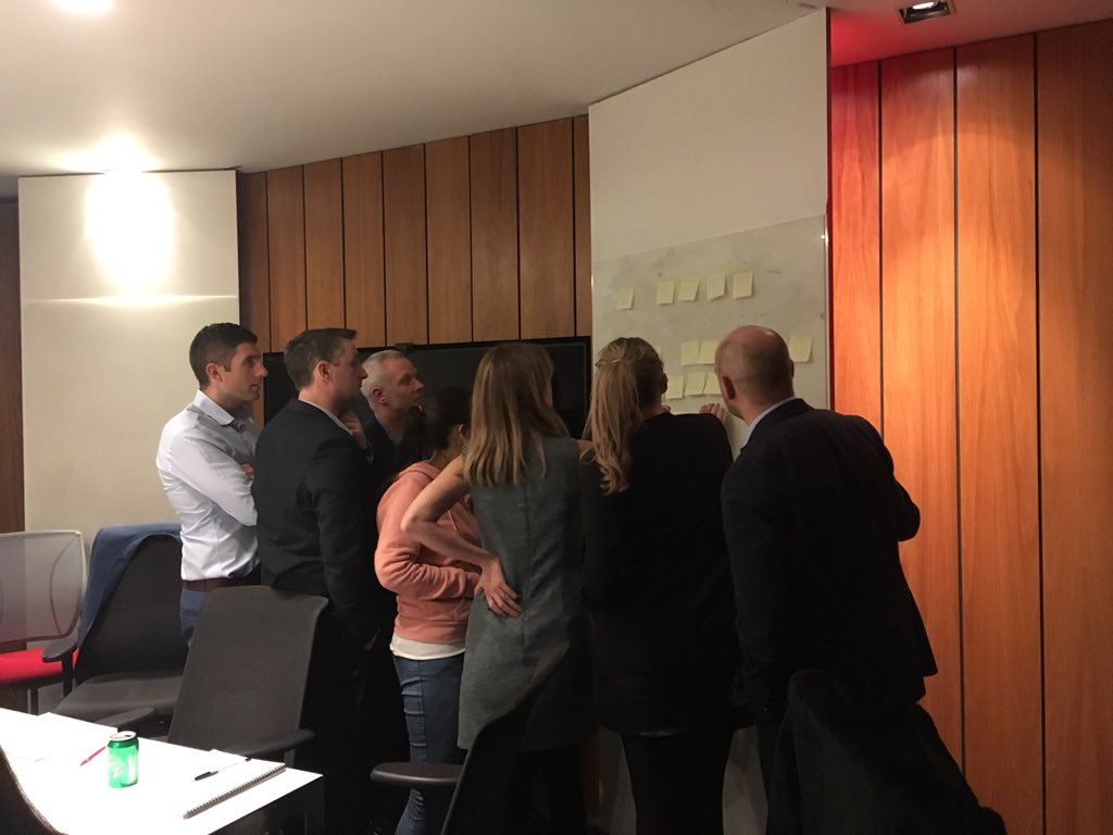 Great collaboration between  #mastersinglobalbusiness & #mastersinbusiness students with excellent group of Morgan McKinley  @morganmckinley recruitment consultants last night, our students applying #designthinking to solve client challenges #collaboratewithcit @CIT_FBH @CIT_ie https://t.co/bRPbHZz40n