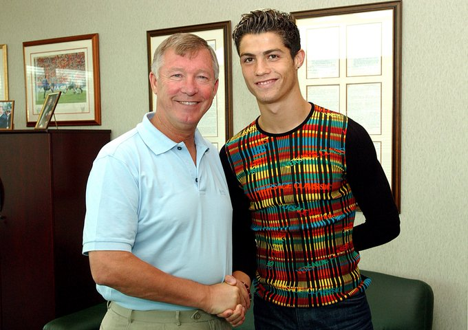 Was this guy the best signing Fergie ever made? #Throwback Photo