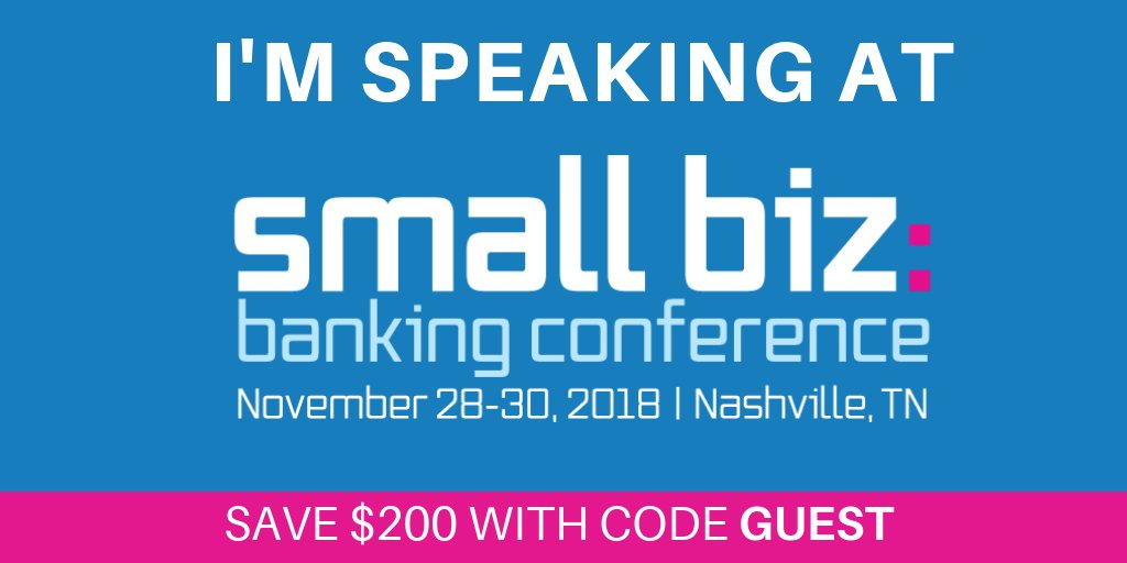 Small Business Banking >> Jacob Jegher On Twitter I Ll Be Moderating A Keynote Panel