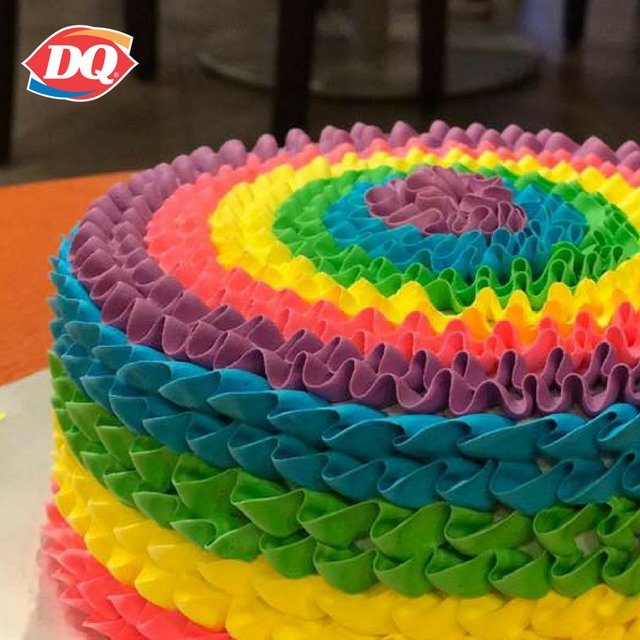 Enjoyable Dairy Queen On Twitter Have You Ever Wondered What A Rainbow Funny Birthday Cards Online Fluifree Goldxyz