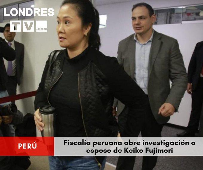 #8Nov La decisión de investigar al marido de la líder opositora fue tomada por el fiscal José Domingo Pérez a raíz de la compra de dos terrenos con fondos de origen presuntamente ilícito, en 2015 y 2016. Photo