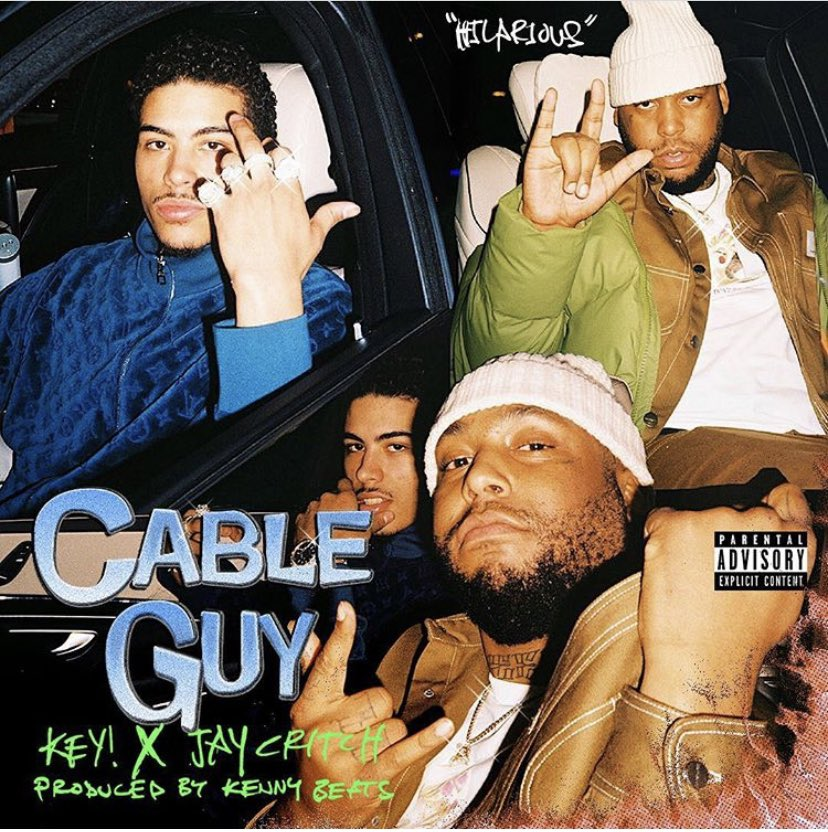 "Funny❓ ""Hilarious"" OUT NOW on all platforms @jaycritch @kennybeats #cableguy"