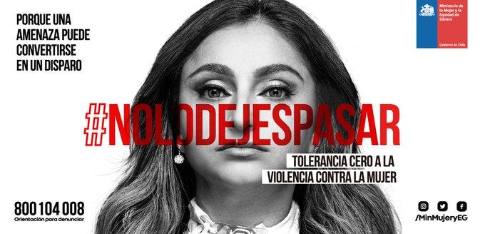 Las nuevas generaciones nos están invitando a la construcción de un Chile en el que las discriminaciones arbitrarias y el abuso contra las mujeres, no lo podemos dejar pasar, debemos rechazarlo y condenarlo. #NoLoDejesPasar #ChileLoRespetamosTodos Photo