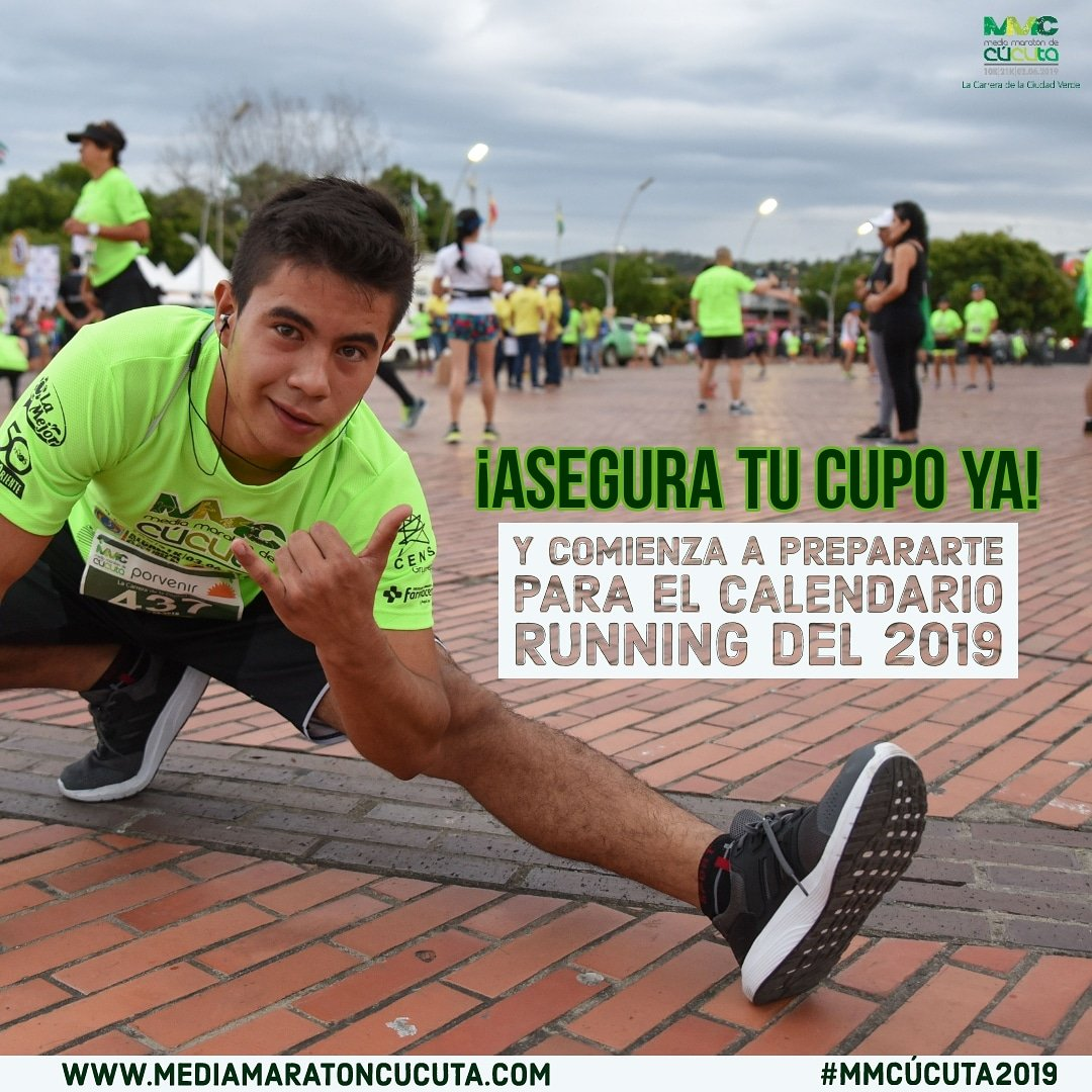 Calendario Running.Media Maraton Cucuta On Twitter Anota En Tu Calendario