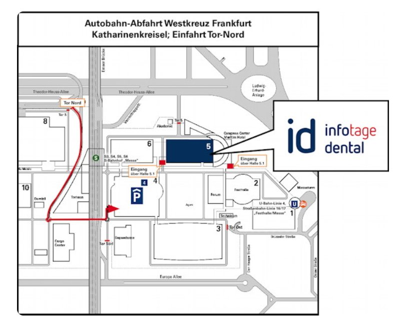 Die #infotagedental #frankfurt morgen in der Messehalle 5, Eingang Ludwig-Erhard-Anlage, links neben dem Congress Center. Alle Infos in unserem Lageplan: https://t.co/kBBKzkuRFm #ichbinsodental https://t.co/atq1bZpy75