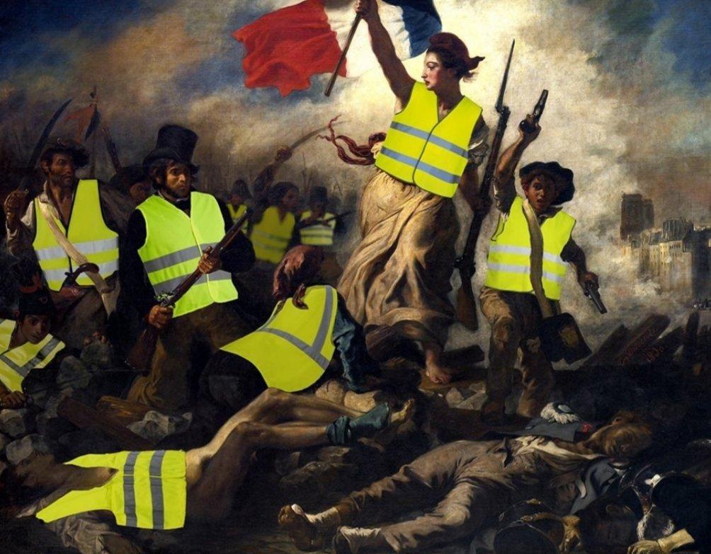 RT @oze_le: La France le 17 novembre 2018 #BalanceTonTaudis #assisesindustrie https://t.co/lS0RyJtDvg