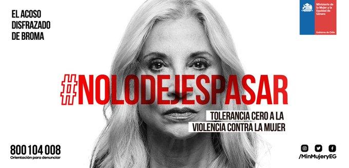 Durante 2017 en Chile hubo 44 femicidios, 115 de ellos frustrados, números que revelan una terrible realidad. Hoy con el Presidente @SebastianPinera nos comprometimos a construir un Chile libre de discriminaciones arbitrarias y abusos contra la mujer. #NoLoDejesPasar Photo