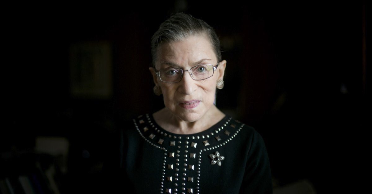 Ruth Bader Ginsburg has been a tireless fighter for women's equality for 40 years!   RETWEET if you are thankful she is on the Supreme Court!