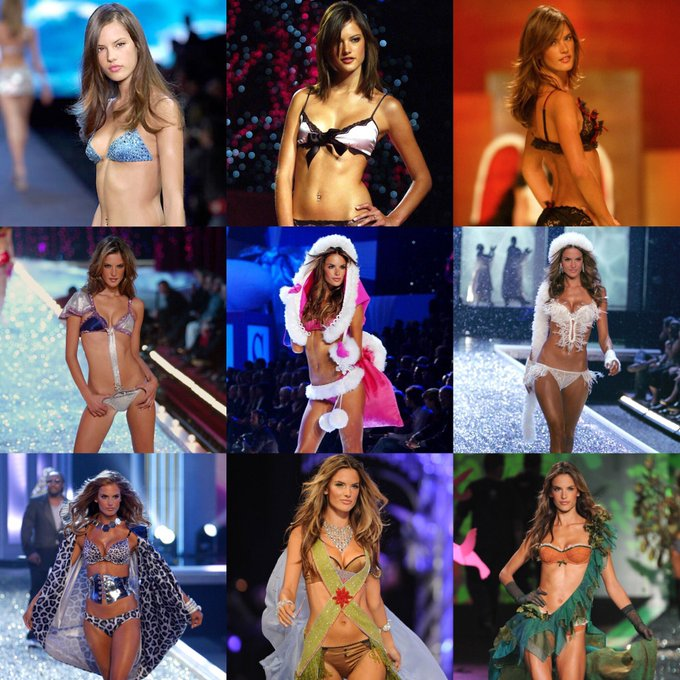 Today will be the first Victoria's Secret Fashion Show without Alessandra Ambrosio since 2000. Thank you for an amazing 17 years. #VSFashionShow Photo