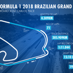 #F1 - This weekend, the @InterlagosTrack circuit will host the #BrazilianGP 🇧🇷. Here are all the important information about this track. Ready?