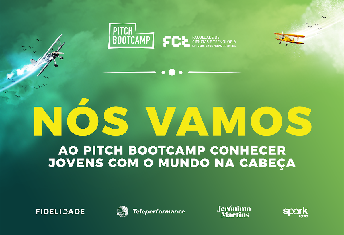 Come meet our Founder and CEO, Daniel Vila Boa, at the Pitch Bootcamp @FCTNOVA. Saturday afternoon, 10th November 2018! #chilltime #pitchbootcamp #fctnova https://t.co/ld6DMJ8TiL