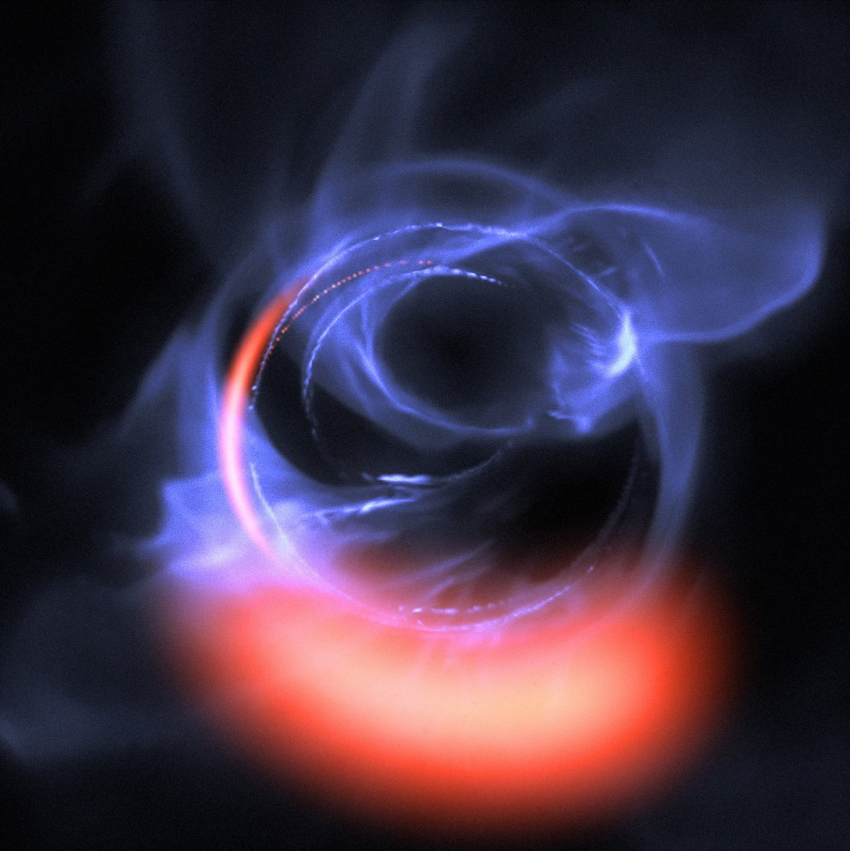1/n This is quite seriously one of the most jaw-dropping observations I've ever written about:  Astronomers have detected material *just* over the edge of a black hole's Point Of No Return.    https://t.co/A2ytjya4Uc