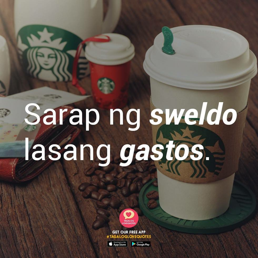 pinoy tagalog love quotes on days pa before sweldo 😂
