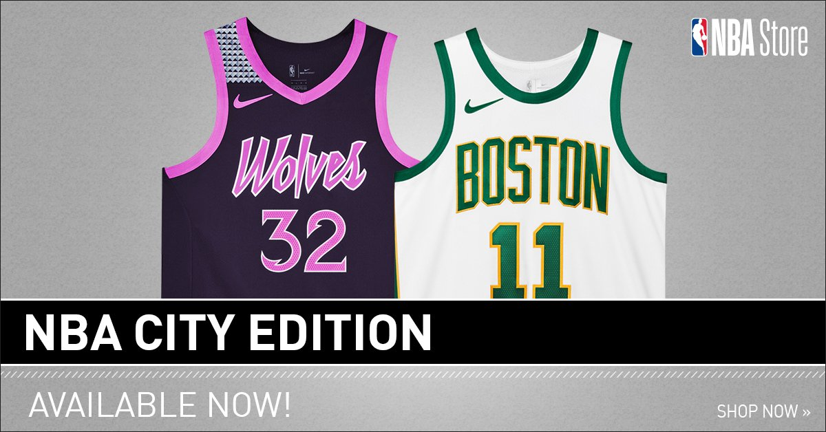 Get your 👐 on the 🔥 jerseys! City Edition jerseys now available on.nba.com/2D9f61o