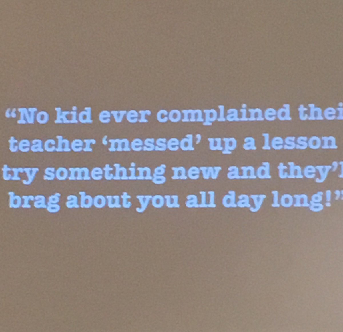 @mradamwelcome #kpc18 #KidsDeserveIt