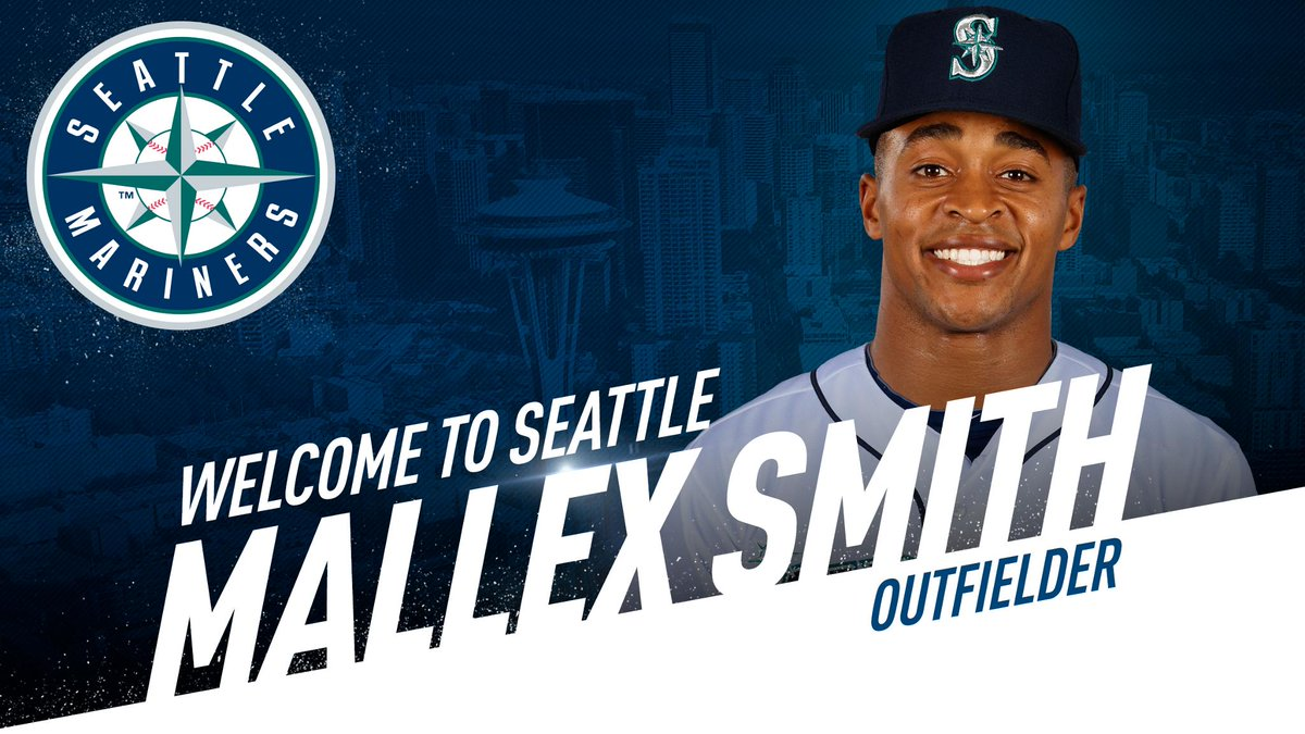 #Mariners acquire outfielder Mallex Smith from Tampa Bay. Read: atmlb.com/2Ph3uAT