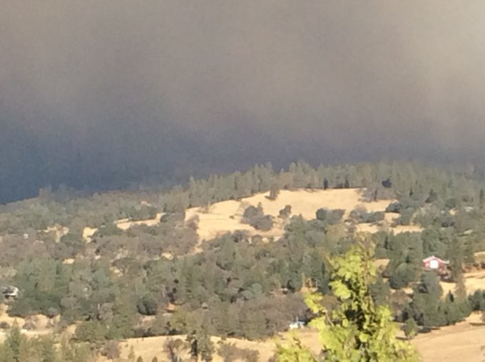 #Campfire [Update], This Fire is very dangerous, please evacuate if asked to do so! Photo