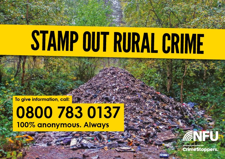 National Farmers Union's photo on #RuralCrime