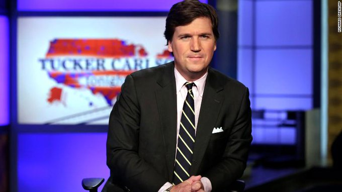 Police were called to the Washington, home of Fox News host Tucker Carlson on Wednesday night when a group of left-wing activists showed up and shouted threats Photo