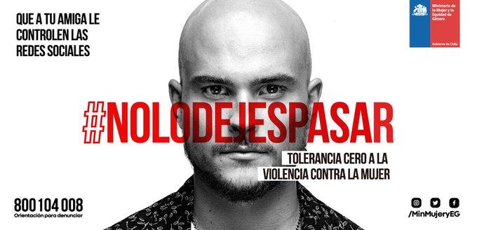 En la lucha contra la violencia, nadie sobra. Todos estamos llamados a construir un Chile + humano, + solidario y sin violencia. Para q logremos TOLERANCIA CERO a la violencia contra la mujer, infórmate y difunde #NoLoDejesPasar #ChileLoRespetamosTodos Photo