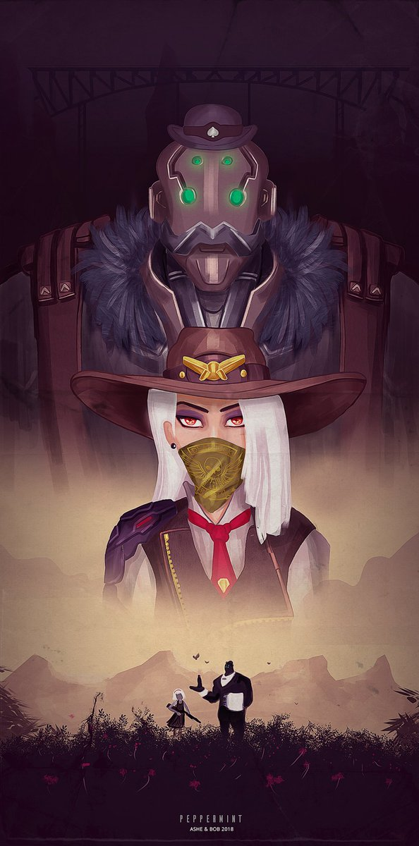 Ashe Overwatch Wallpaper Iphone - wallpaper game over
