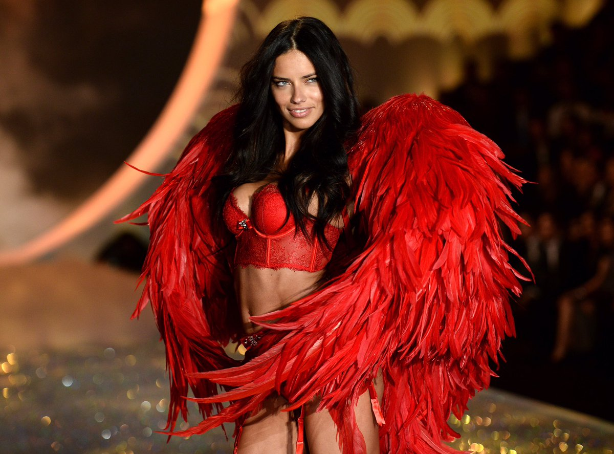 "Its the end of an era! @AdrianaLima announced that this will be her last @victoriassecret Fashion Show, and she's retiring from the brand at 37. During today's show taping, they ran a special montage package calling her ""the greatest angel of all time."" #VSFashionShow"