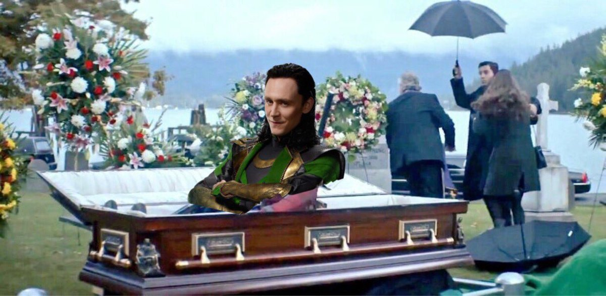 everyone: loki is not coming back stans: yes he is everyone: his neck broke he's dea- loki: