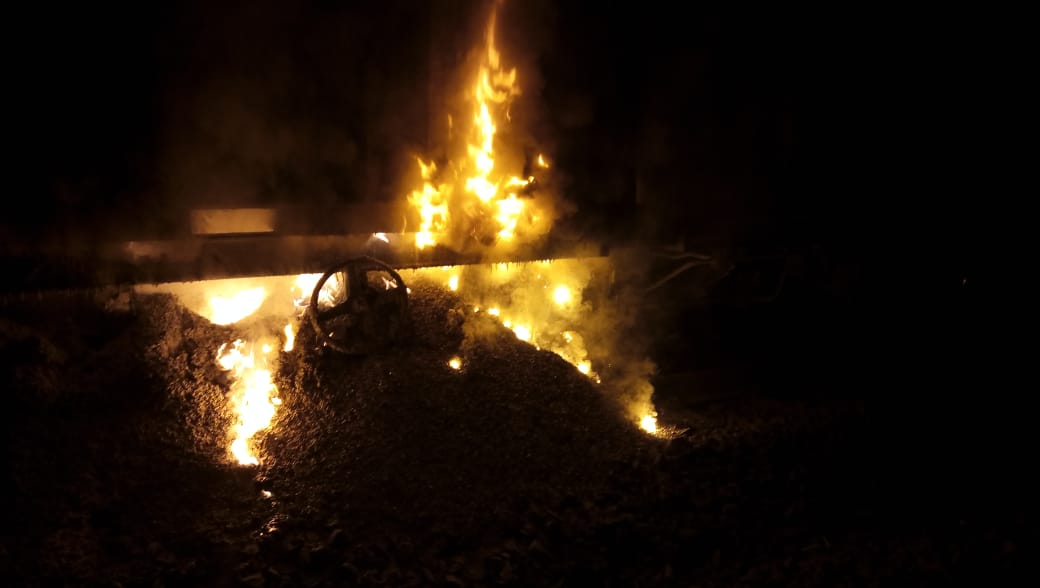 Fire in goods train at Dahanu Road station; Karnavati, Shatabdi, Duronto, Flying Rani among trains affected on Ahmedabad – Mumbai route