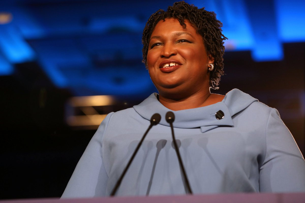 Stacey Abrams will file a lawsuit in Georgia's Dougherty County, which is 70% black, claiming people who requested mail-in ballots either never received them or were sent them too late because of Hurricane Michael. She wants those ballots to be counted. <br>http://pic.twitter.com/yh9aSTENms