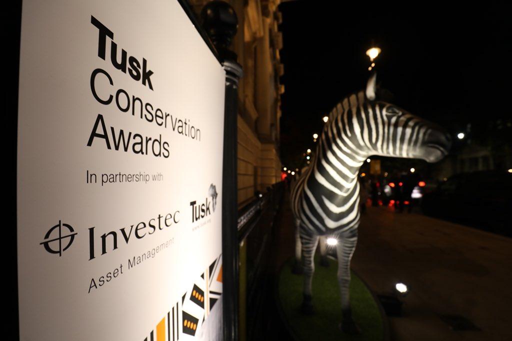 Герцог и герцогиня Кембриджские на вручении The Tusk Conservation Awards
