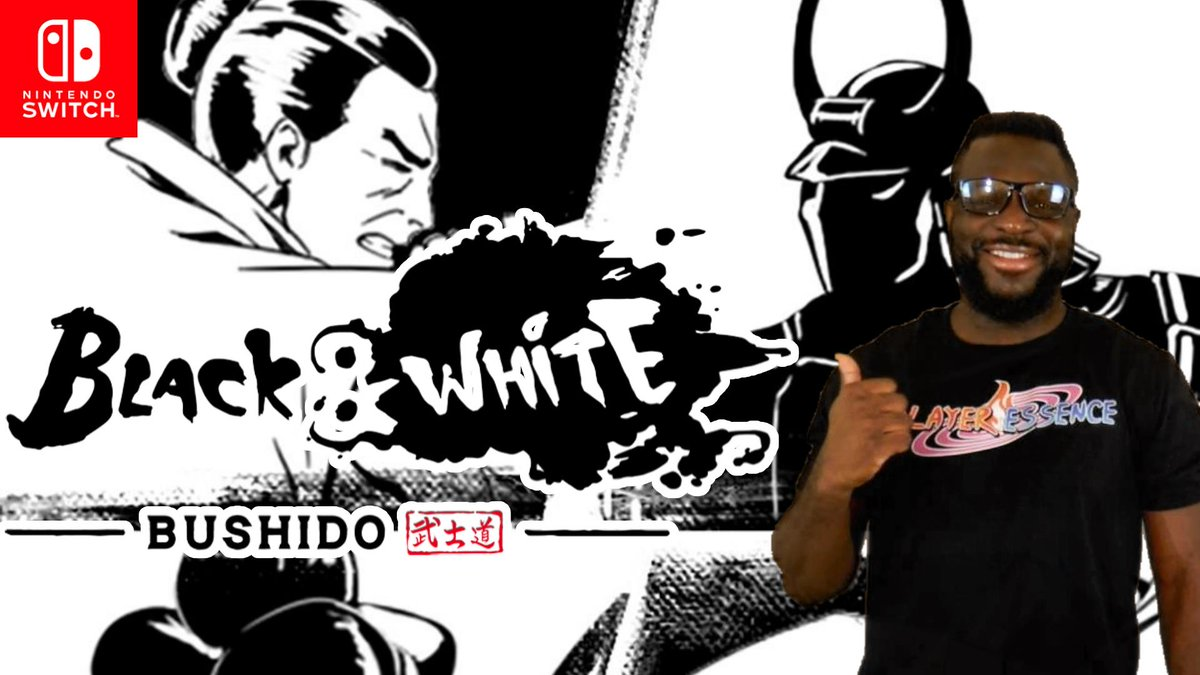 New Sponsored Video! 💵😂  Hey Ninja! I recently did a Let's Play for Black & White Bushido on the Nintendo Switch. Check out all the action here.   Likes & Retweets Appreciated! 🤘🏿 https://t.co/5aGctNbsEt https://t.co/sItkcLS5Hn