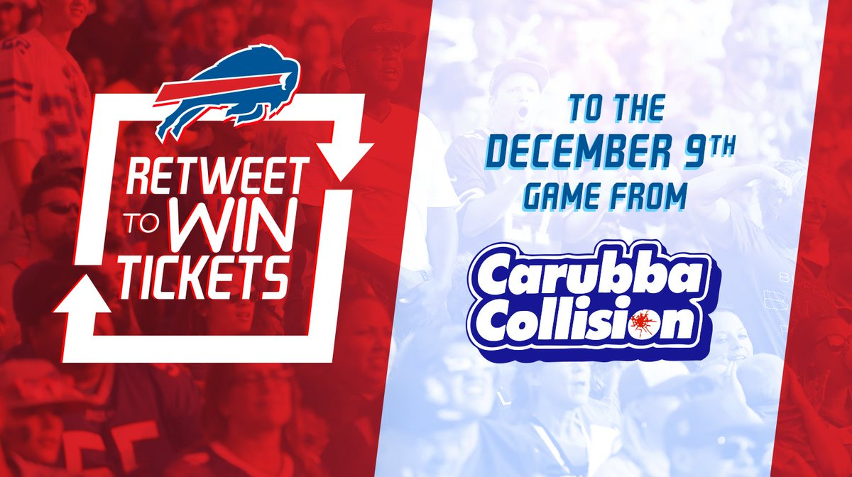 RT buffalobills: Retweet for a chance to win tickets to our home game against the Jets from #CarubbaCollision.  Rules: http://bufbills.co/sOei4D   Sports fans! Sign up for the new exciting live interactive sports app, FIREFAN! Go to… https://www.youtube.com/watch?v=iKNtSC_jab8 …