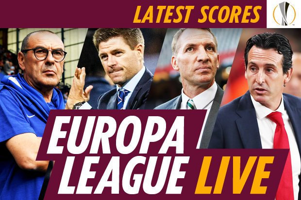 Europa League scores LIVE: BATE vs Chelsea, Spartak vs Rangers, Arsenal vs Sporting Lisbon Photo