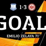 ⏱71' #Goaaal | @APOLLONOFFICIAL [1-3] @Eintracht Ο Ζελάγια μειώνει σε 1-3 με εξαιρετική κεφαλιά μετά από ασίστ του Ζοάο Πέδρο.#UEL #ApollonEintracht