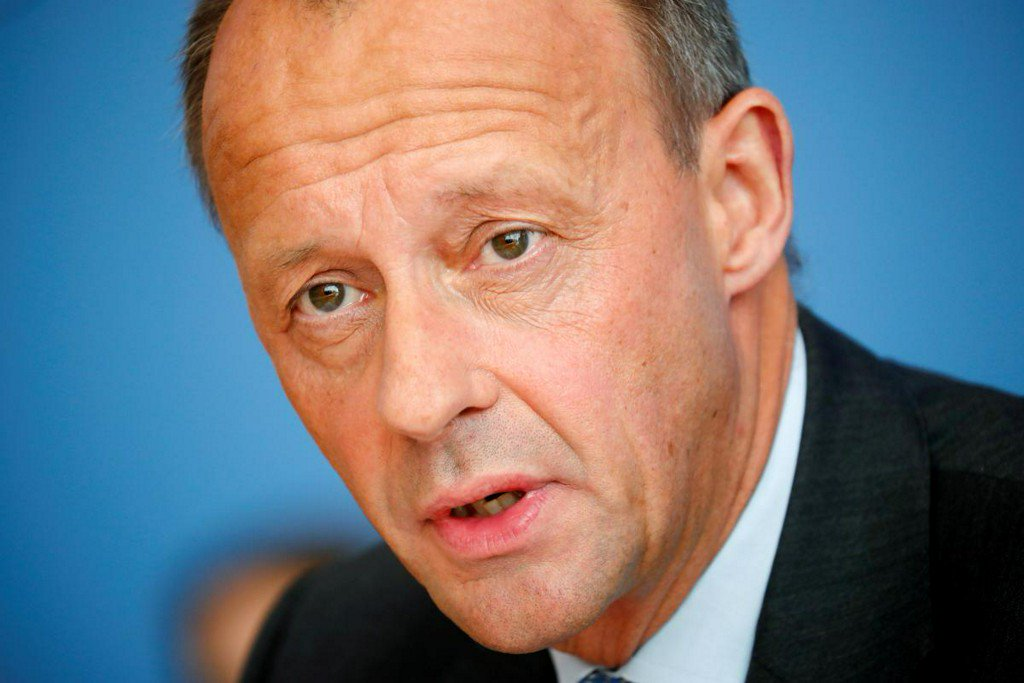 Conservative Merz says Germany benefits from 'weak' euro https://reut.rs/2QtnFIg