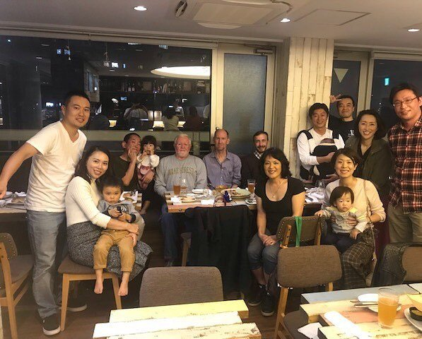 Prof. Brooke Saladin met up with some of our @wakeforestbiz alumni in #Tokyo recently! #bizdeacs #wakearoundtheworld #wakealumni #wakeforest #lifeafterwake https://t.co/ex9IJiQAla