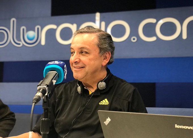 #PodcastBLU Así era Javier Giraldo Neira en palabras de uno de sus más grandes colegas @estejaramillo #BloDeportivo Photo
