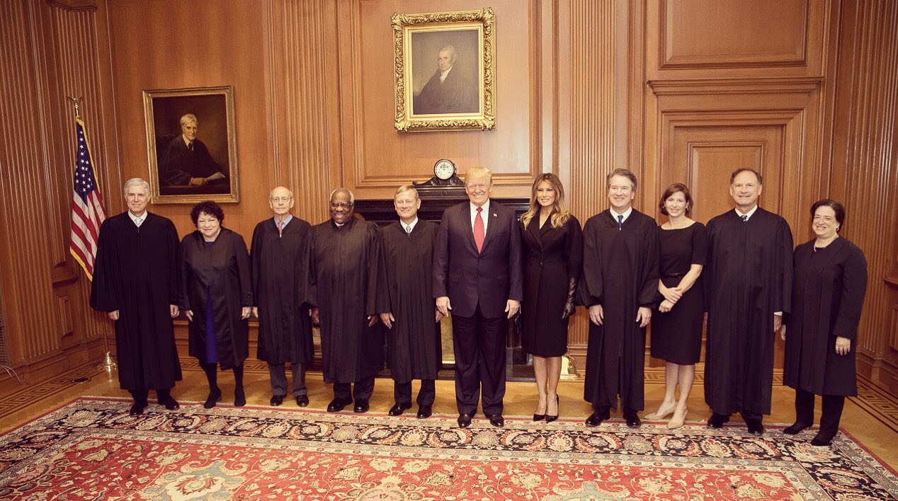 Congratulations Justice Kavanaugh. I know you will continue to serve our country with honor. ���� https://t.co/OuAosgrYoc