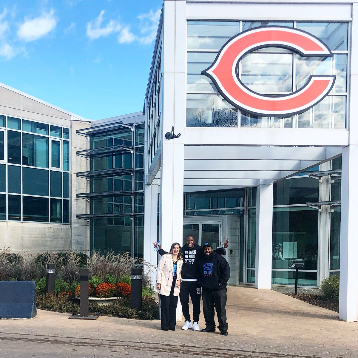 The Bears are the first team in the  NFL to take part in the NFL s  socialjustice  initiative. ... bbf2c3cc1