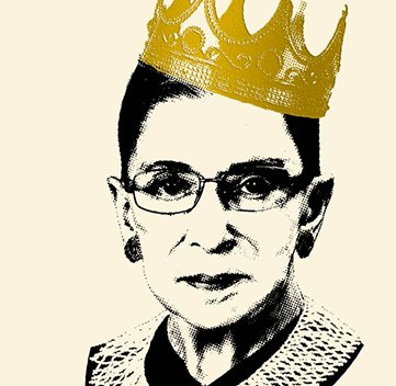 Our thoughts are with Ruth Bader Ginsburg today, but we also know no broken ribs can stop this indestructible lady 👑👑👑 Photo