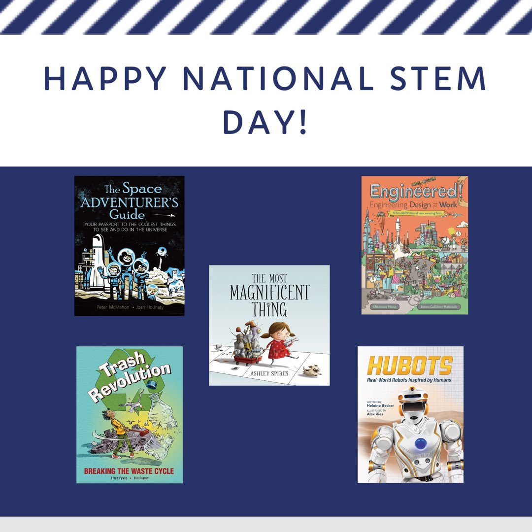 Kids Can Press's photo on #NationalSTEMDay