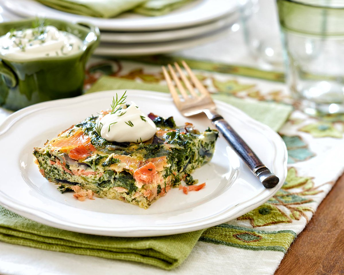 Get your superfood on! Step up your breakfast with this kale and smoked salmon dish! https://t.co/VGA8BARiHw https://t.co/jblcezCLgr