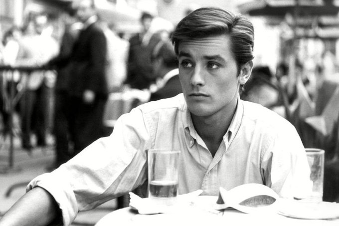 Happy Birthday Alain Delon. Winning every day.