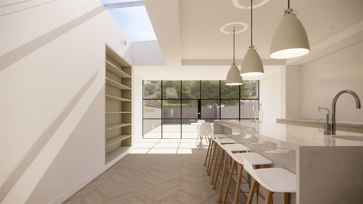 Our latest Dulwich project is soon to go onsite. #architecture #archilovers #dulwich #NewWork #refurbishment #designcubed
