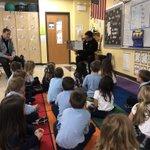 Image for the Tweet beginning: Kindergarten enjoyed their time reading