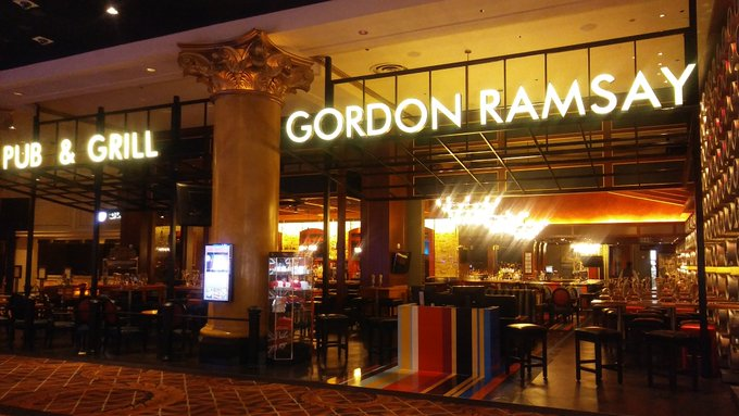 Happy Birthday Gordon Ramsay. Had the best food at one of your casino resturants