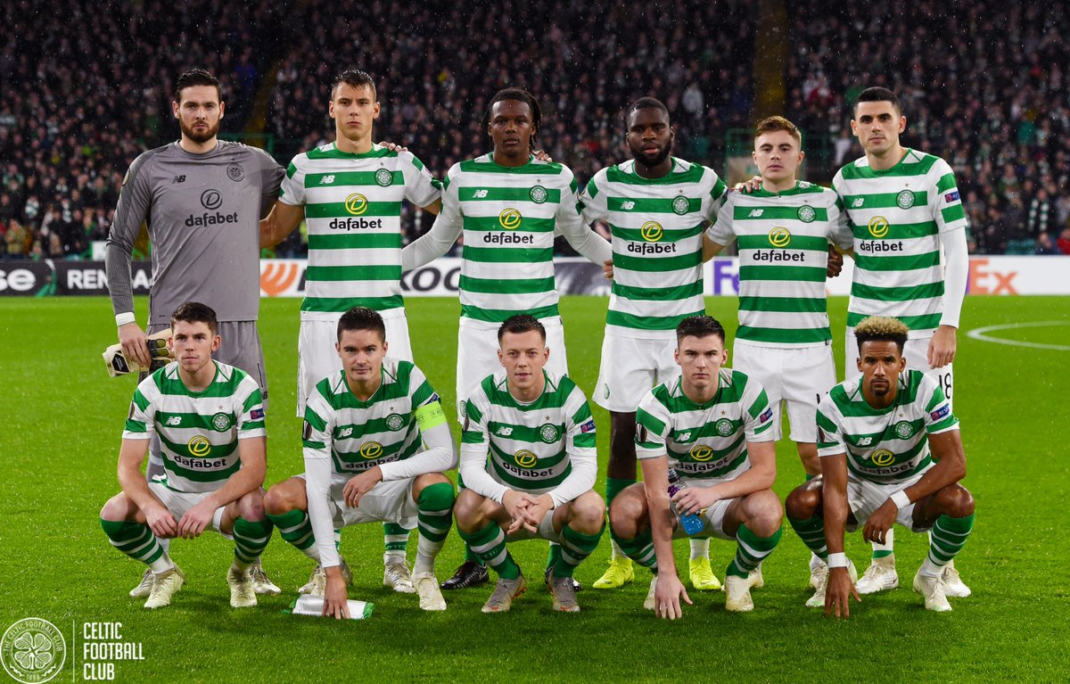 RT @CelticFC: The Bhoys. 💚⚪️  #CELRBL #UEL https://t.co/Odw2NY8lzD