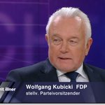 """Image for the Tweet beginning: Wolfgang Kubicki bei #illner: """"Wenn"""